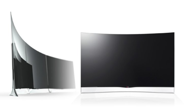 LG Electronics' 55-inch curved OLED TV