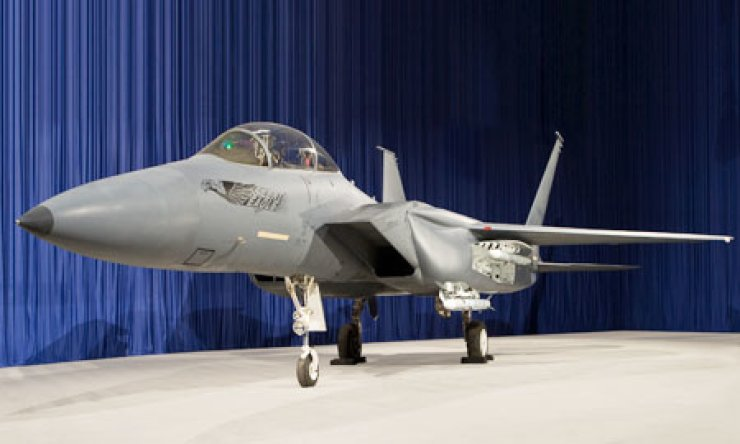 Boeing's F-15 Silent Eagle
