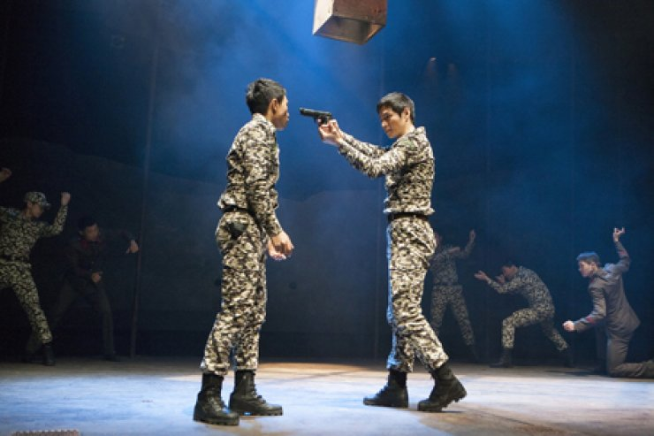 'Joint Security Area' runs through Sunday at the Dongsoong Art Center in Daehangno, Seoul. / Courtesy of Company Da