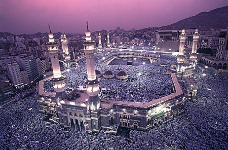 Mosque in Mecca / Courtesy of Royal Embassy of Saudi Arabia