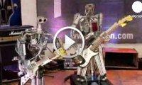 Robots rock Heavy Metal