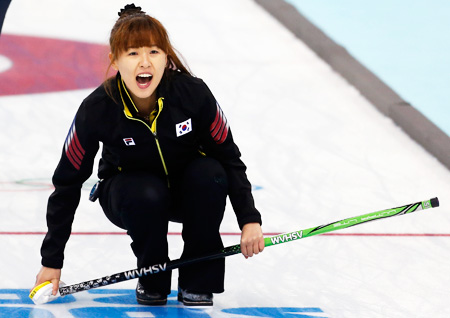Curling team hits Euro wall