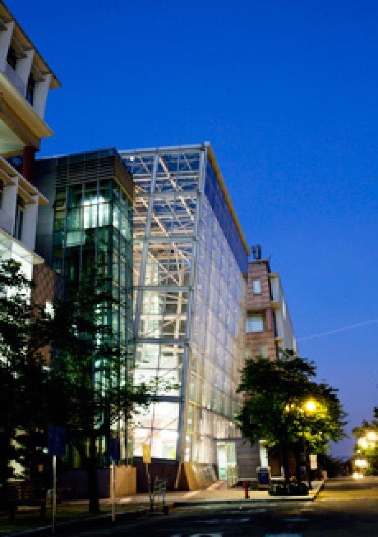 Kookmin Graduate School of Business Administration's building on the school campus in northern Seoul./ Courtesy of Kookmin University