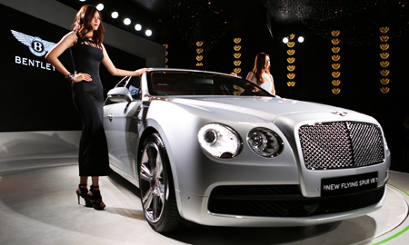 Bentley Launches More Affordable Luxury Sedan
