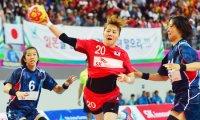 S. Korean women rout Japanese to snatch handball gold