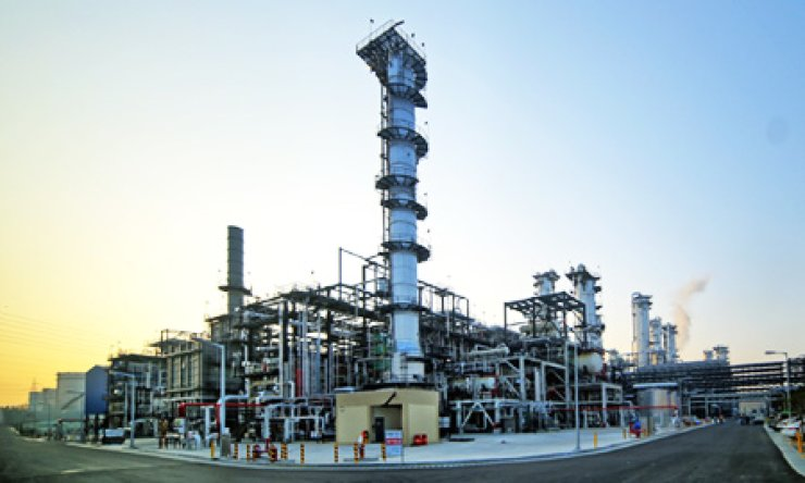 SK Global Chemical's para-xylene (PX) and benzene plant in Ulsan
