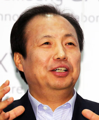 Lee Jae-yongSamsung Electronics Vice ChairmanShin Jong-kyunMobile division chief