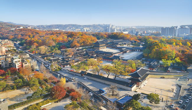 A view of Changdeokgung Palace in autumn/ Courtesy of the Cultural Heritage Administration