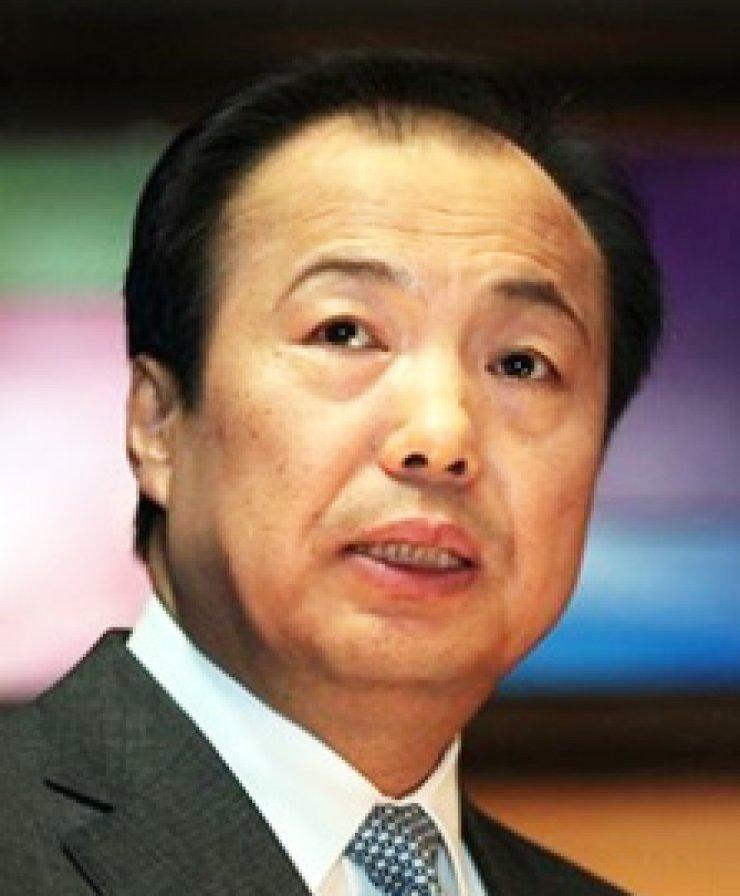Shin Jong-kyunSamsung mobile chiefMark HurdOracle co-CEO