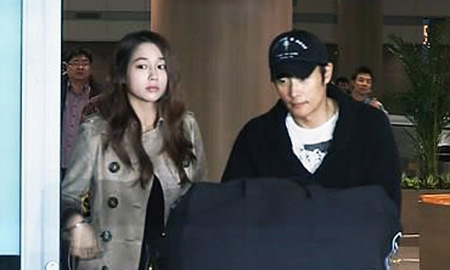 Lee Min Jung and Lee Byung Hun Press Conference  YouTube