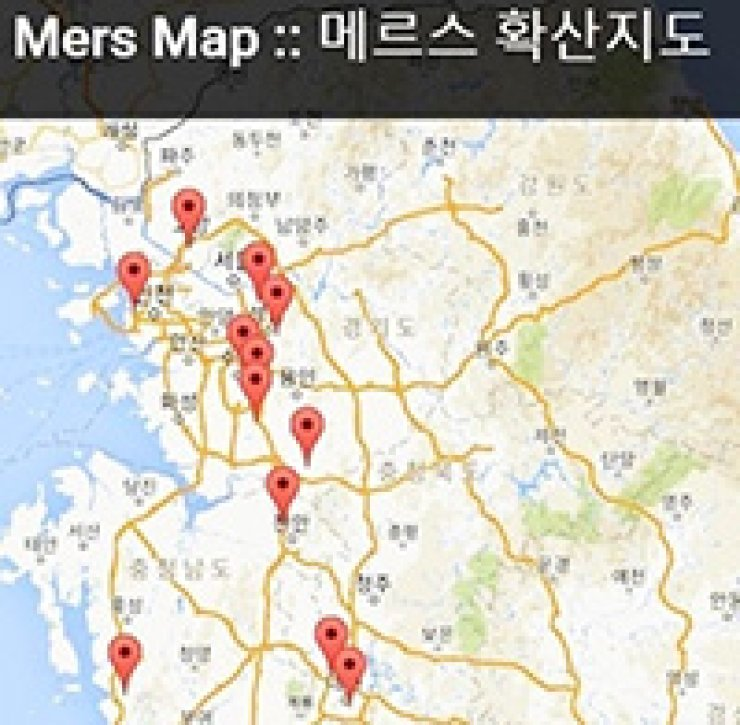 A MERS map