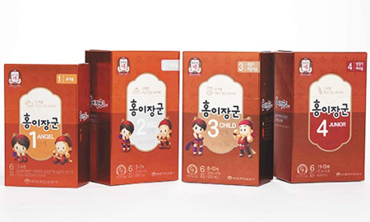 A children's tonic produced by Korea Ginseng Corp. (KGC) has become popular in recent weeks amid the outbreak of Middle East Respiratory Syndrome. The tonic and other KGC products contain red ginseng extract, which has been found to help boost the immune system, among other health benefits. / Courtesy of KGC