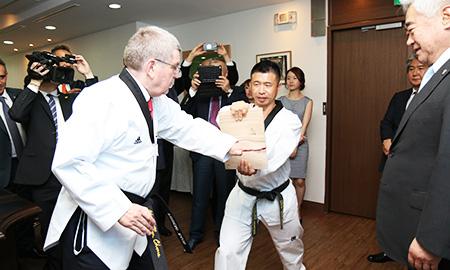 IOC chief satisfied with PyeongChang progress
