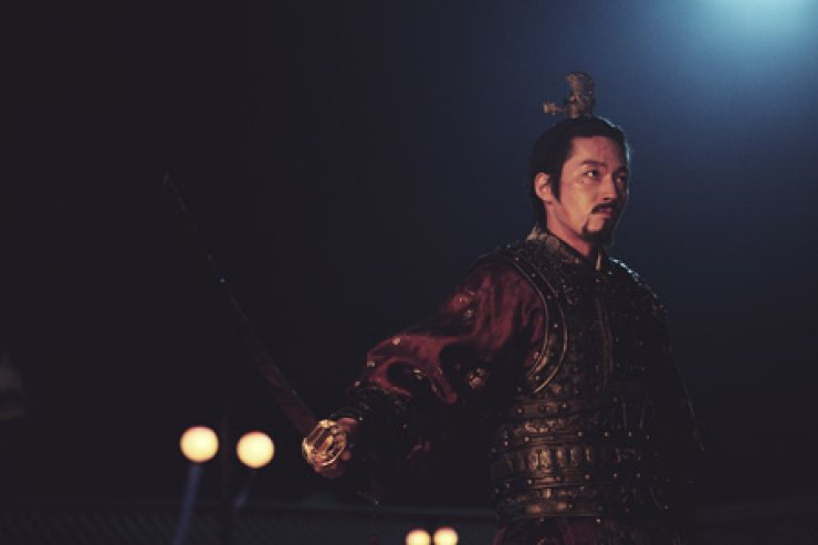 Actor Jang Hyuk in a scene from the period film 'Empire of Lust'/ Courtesy of Fine Works