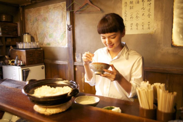 Actress Mikako Tabe in a scene from Japanese film 'Midnight Diner' / Courtesy of NK Contents