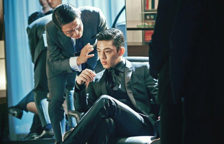 Yoo Ahn-in stars as a villain in 'Veteran.' / Courtesy of CJ E&M