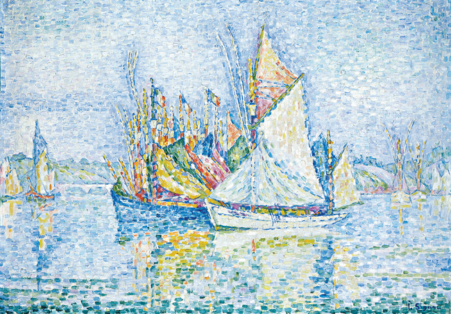 Vincent van Gogh's 'The Langlois Bridge'