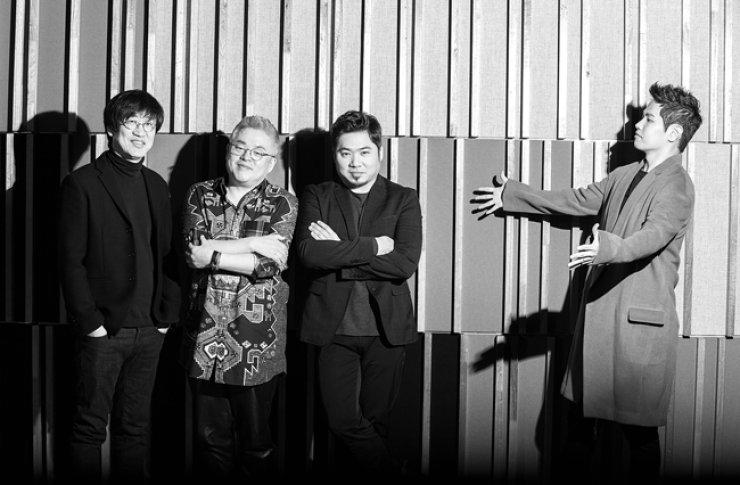 From left, Kim Kwang-jin, Kim Hyung-suk, Kim Jo-han, and Na Yoon-kwon / Courtesy of K-tune e&m