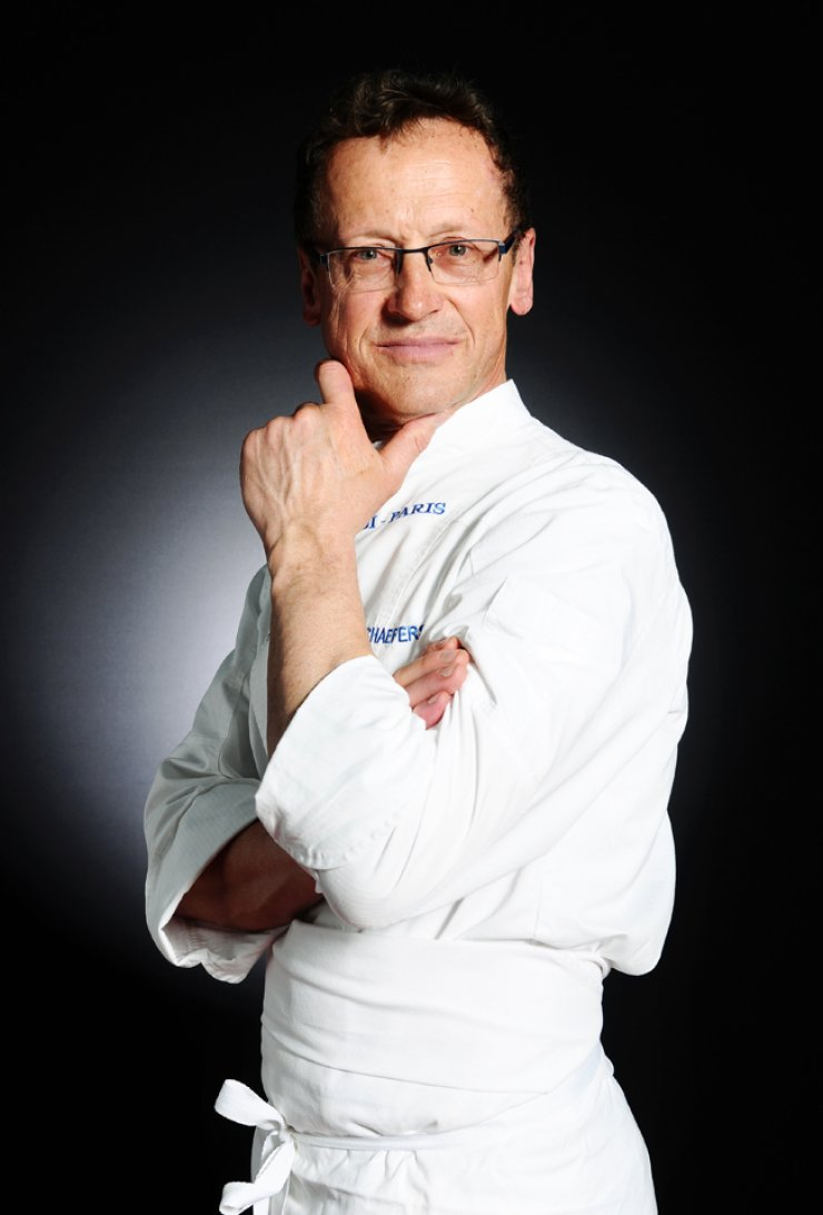 Antoine Schaefers, professor at Ferrandi, the French School of Culinary Arts in Paris, France, one of the world's leading culinary schools / Courtesy of Mir Foundation