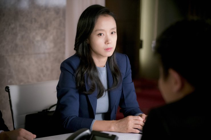 Jun Do-yeon in a scene from 'The Good Wife' /  Courtesy of tvN
