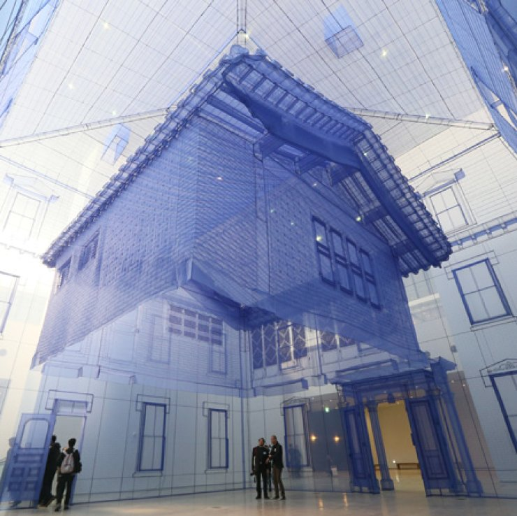 After years of anticipation, the Seoul branch of the National Museum of Modern and Contemporary Art opened near the Gyeongbok Palace in Sogyeok-dong on Wednesday. / Yonhap