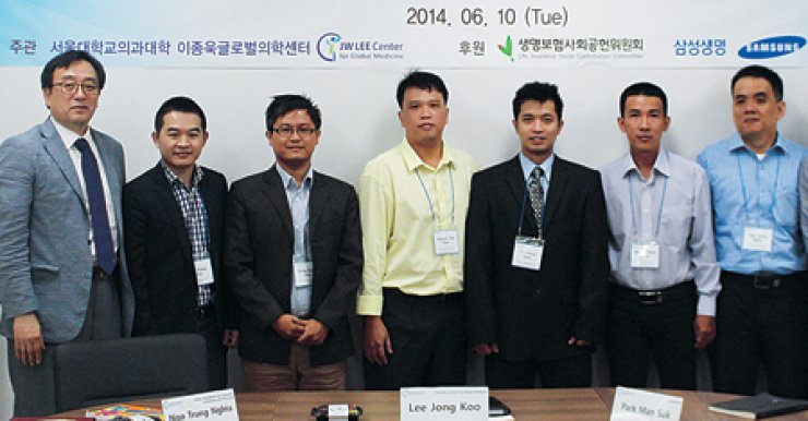 Vietnamese start training under Dr  Lee JW Fellowship