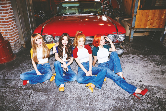 Mamamoo / Courtesy of RBW Entertainment