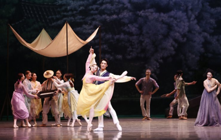 A scene from ballet 'The Love of Chunhyang' / Courtesy of Universal Ballet Company
