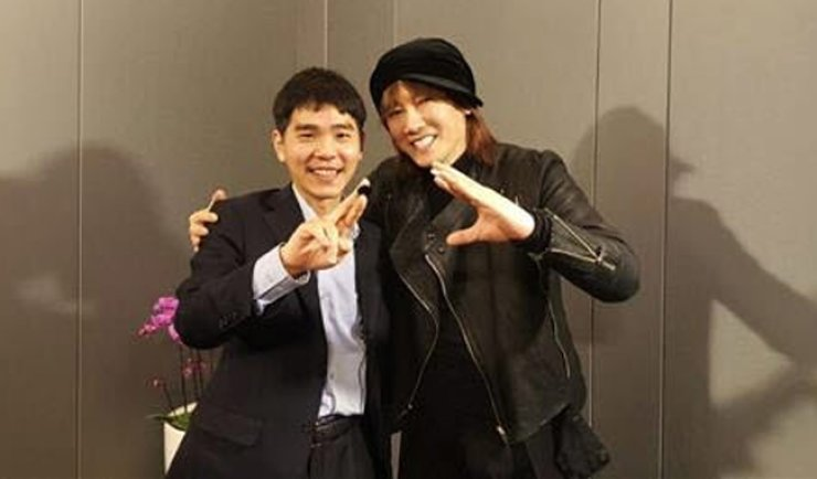 Lee Se-dol, left, and Kim Jang-hoon / Courtesy of Cho Artist Group Management