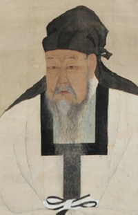 Park Se-dang's portrait owned by Jangseogak Archives