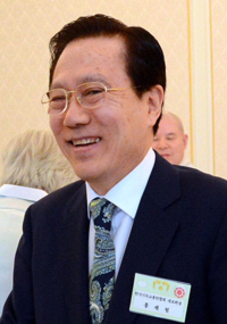 CCK Chairman Hong Jae-chul