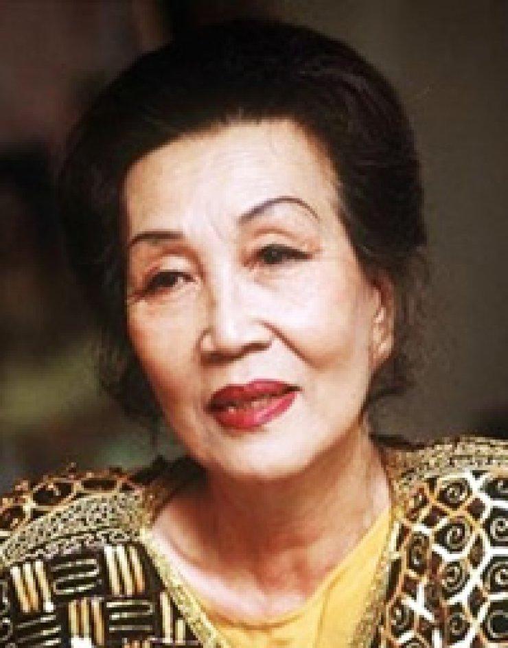 The late Chun Kyung-ja