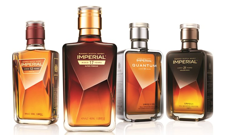 Pernod Ricard's Imperial premium scotch whiskies / Courtesy of Pernod Ricard