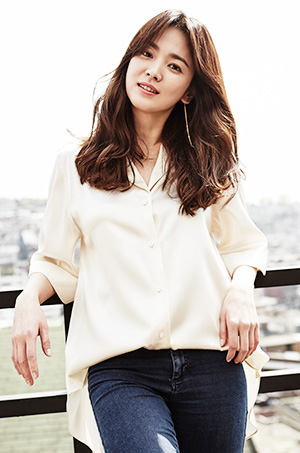 Actress Song Hye-kyo, star of the 'Descendants of the Sun' / Courtesy of UAA