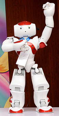 IBM brings cognitive robot Nao-mi to Korea