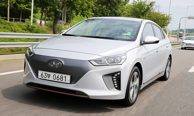 Test Drive Hyundai Motor 39 S Ioniq Electric Offers Efficiency And Comfort