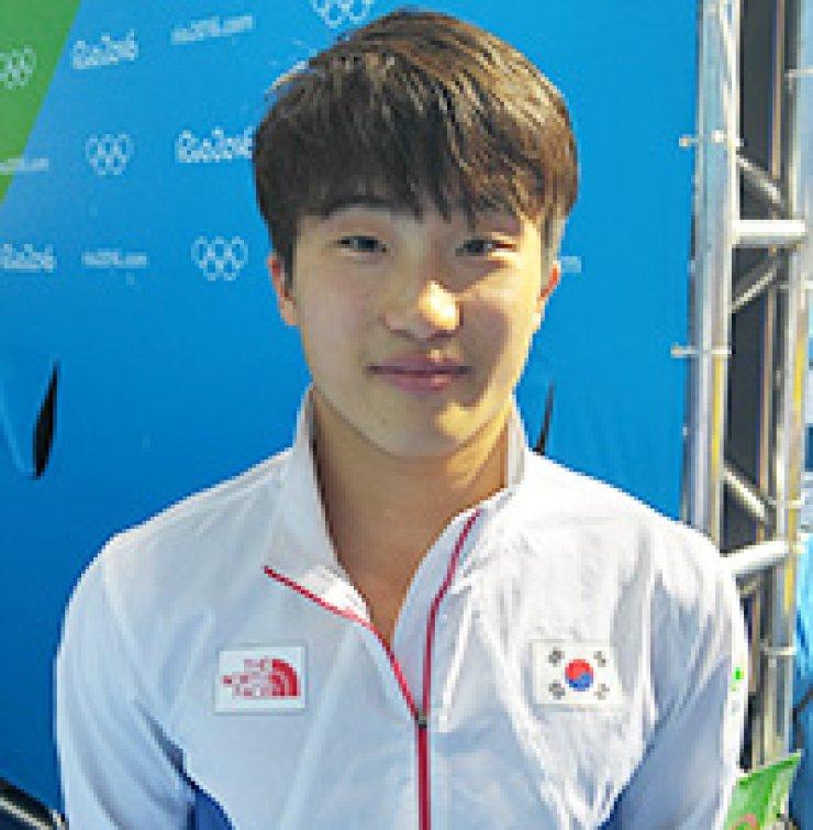 Diver Woo Ha-ram / Yonhap