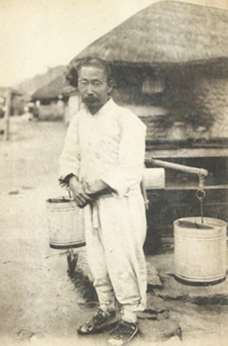 Water bearer circa 1910-1930/ Courtesy of Robert Neff collection
