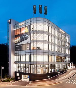 Mercedes benz korea boasts premium customer service for Mercedes benz of nashville service department