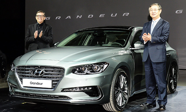 Hyundai Motor Officially Introduces New Grandeur