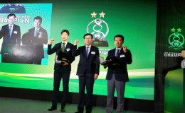 Jeonbuk celebrate Asian Champions League title