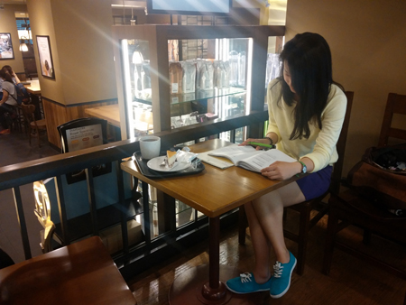 More People Study At Bustling Cafes
