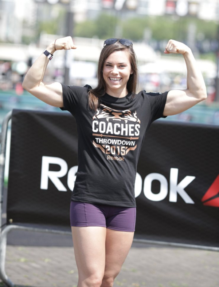 World-renowned CrossFit athlete Julie Foucher / Courtesy of Hahm & Partners