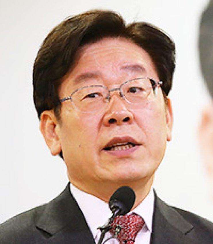 Seongnam Mayor Lee Jae-myung