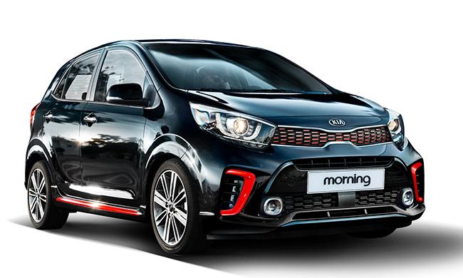 Kia Motors Unveils All New Morning Compact Car