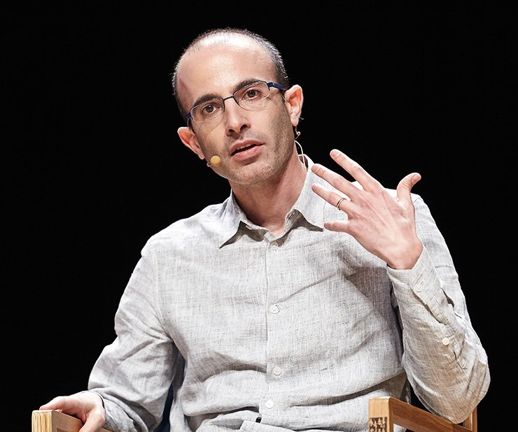 Israeli historian Yuval Noah Harari and his book 'Sapiens: A Brief History of Humankind'