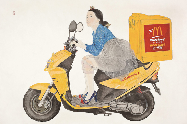 'Swag or Die: Naive Lady' by Kim Hyun-jung / Courtesy of the artist