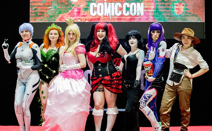 WhiteLies perform at this year's Comic Con at COEX in southern Seoul. / Courtesy of WhiteLies