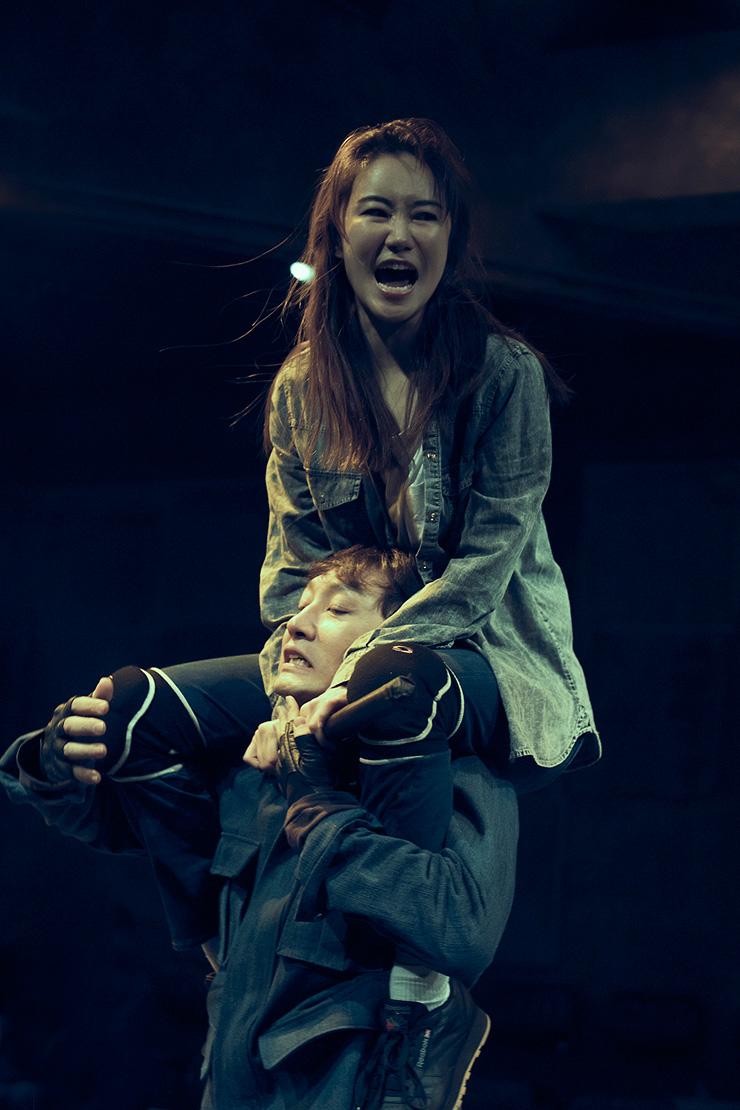 A scene from the musical 'Gwanghwamun Love Song' / Courtesy of CJ E&M