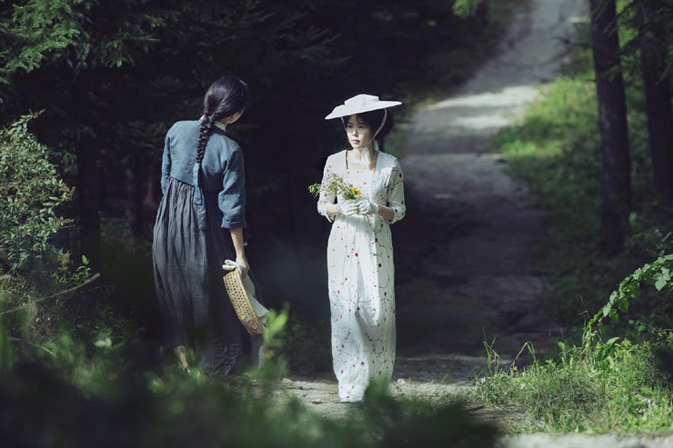 A scene from the Park Chan-wook film 'The Handmaiden' / Courtesy of CJ Entertainment